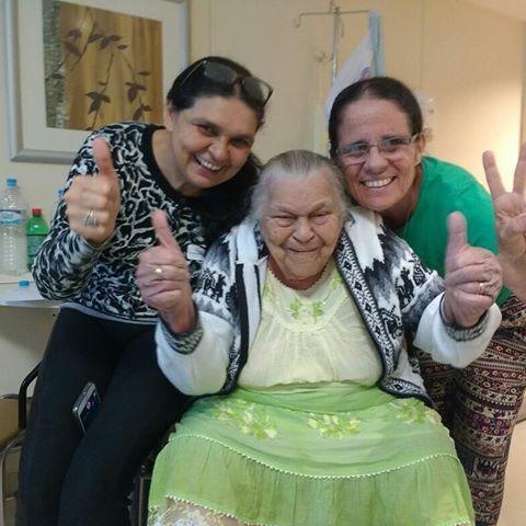 campanha pela saúde de madrinha Rita