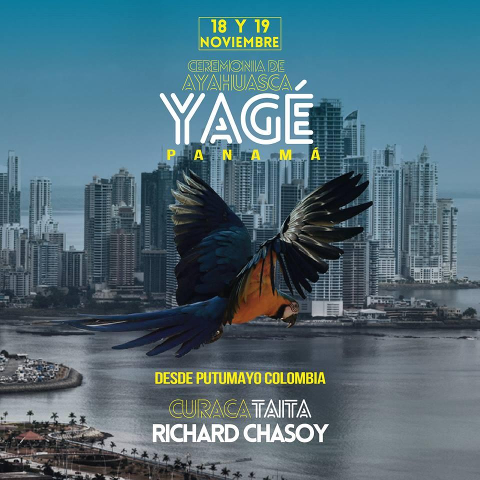 Panama Yage Taita Richard Chasoy 18-19 noviembre 2016
