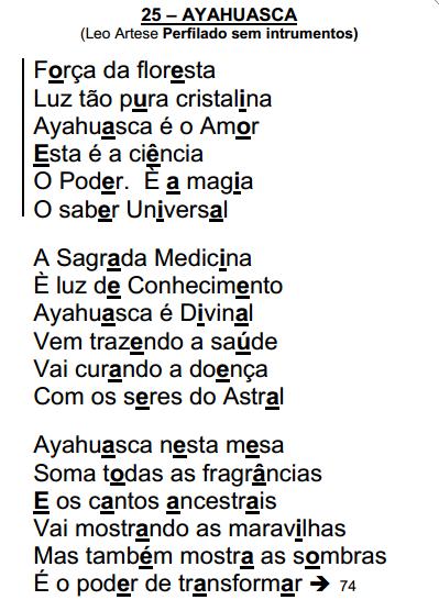 Santo daime Ayahuasca - Leo Artese - hinário Lua Cheia