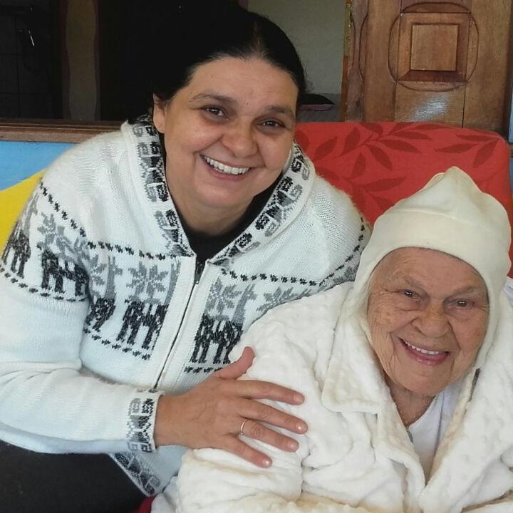 Madrinha Nonata e Madrinha Rita