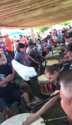 honor song powwow