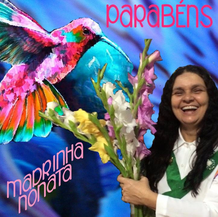 Parabéns Madrinha Nonata