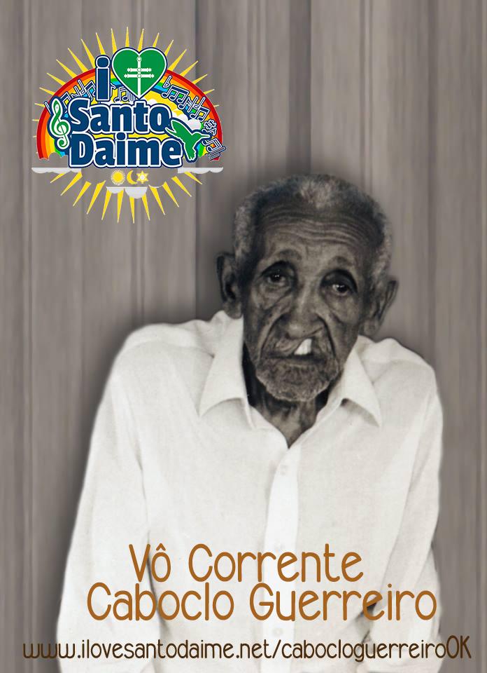 SantoDaime Caboclo Guerreiro Vô Corrente mp3 PDF caderno cifras